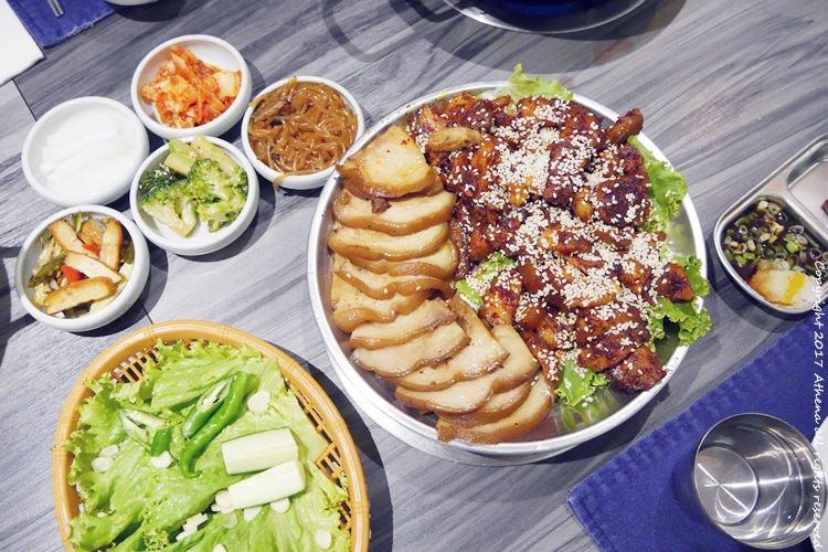 台北食記 ▌國父紀念館站:新沙洞韓國涮涮鍋 有賣豬腳的韓式料理店 鍋還好哈哈哈