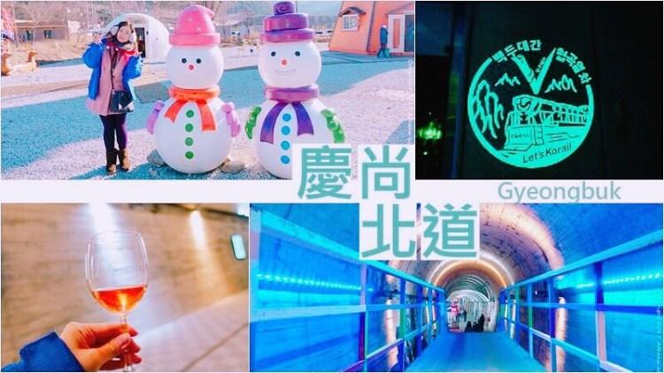 韓國 ▌慶尚北道小旅行:五味子隧道 韓食體驗 V-train聖誕村 觀看平昌冬奧傳遞聖火