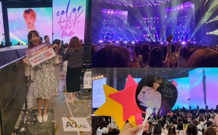 [影音] 一日迷妹!I 姜丹尼爾|Kang Daniel Color On Me Taipei Fan Meeting 2019 ♥ 강다니엘 |Athena娜娜 ft 顆顆