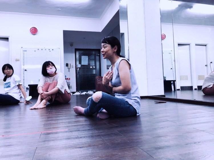 果陀劇場・種子學苑 ▌舞台劇進階表演班 第二堂課 – 練習表達 #情緒 #感覺 #情境