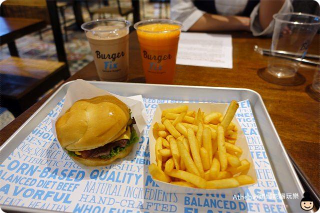 ▌食記 ▌台北大安。忠孝敦化站 全民瘋美國薯條「Burger Fix」餐點分享