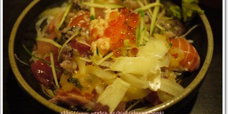 │食記│台北。中正區 日式料理:三大日味屋 (現已改名叫牛洞食堂)