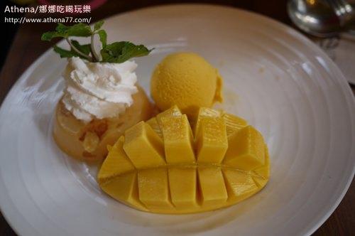 泰國 ▌人氣甜點店Mango Tango。來個芒果冰吧
