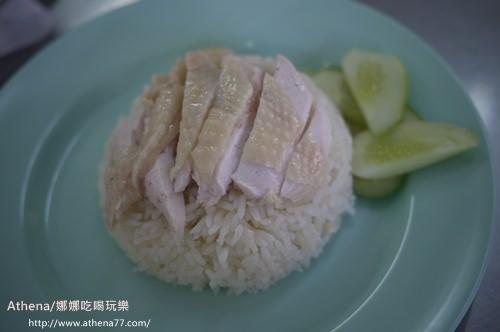 泰國 ▌水門市場附近的海南雞肉飯(Kaiton Pratunam)/粉紅衣店家