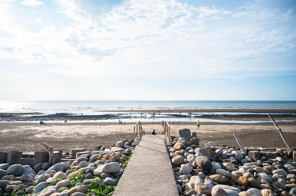  苗栗景點 出水沙灘,苑裡隱藏版祕境,最新IG打卡沙丘景點,還有今年爆紅的抹茶石海灘都在這