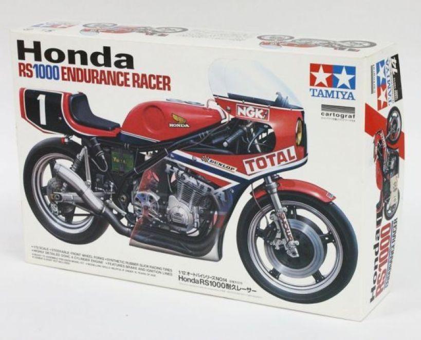 tamiya 14014 honda rs 1000 kit box