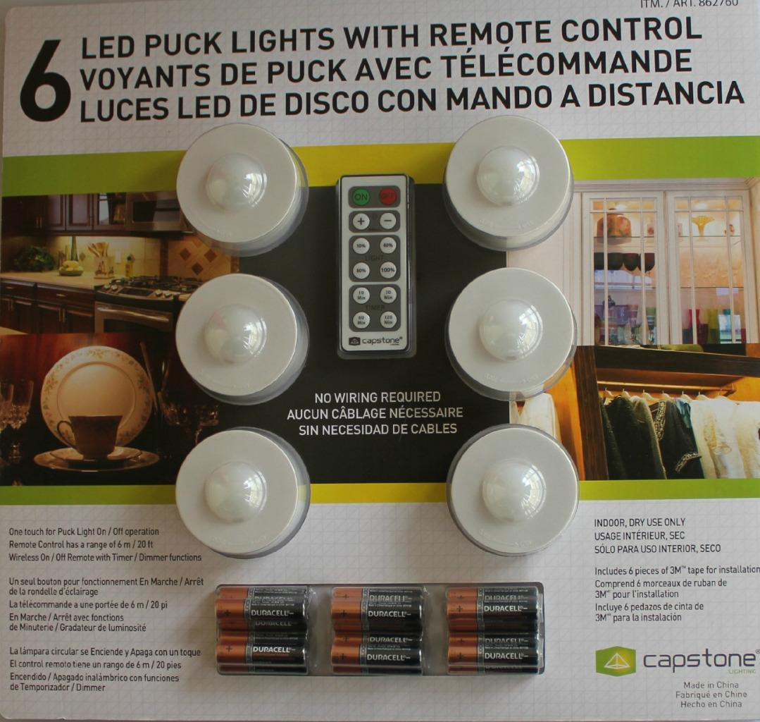 Capstone Led Puck Lights