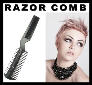 hair cutting cut cutter thinning razor b siccor punk goth emo free blades ebay