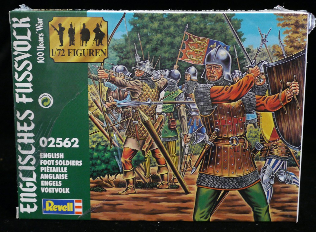 100 Years War English Foot Sol Rs 50 Figures 1 72 Scale