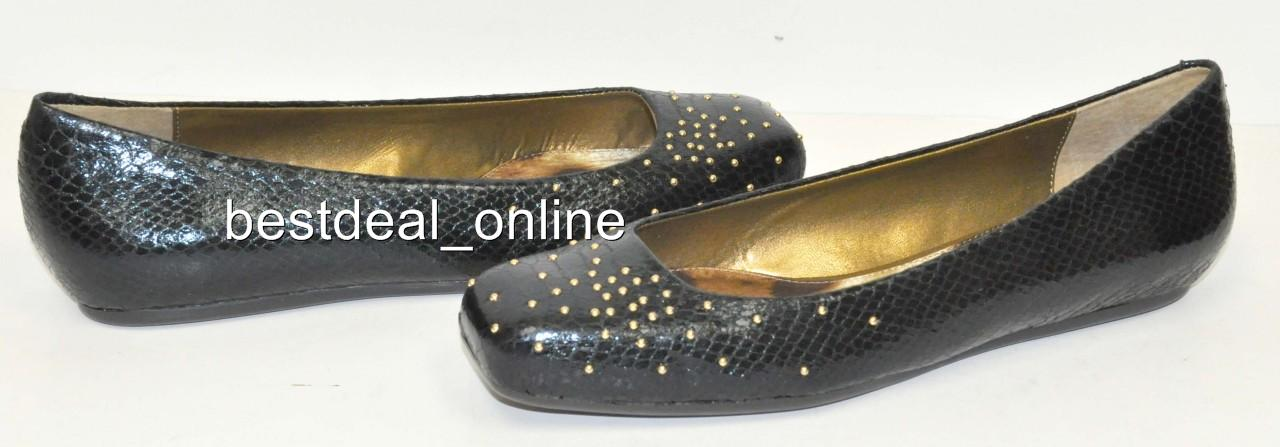 Sam Edelman Jax Black Flats Woman Shoes Size 7 M