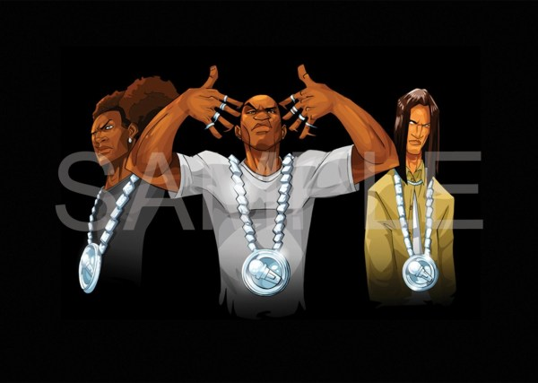 THE BOONDOCKS LETHAL INTERJECTION CREW POSTER ART PRINT ...