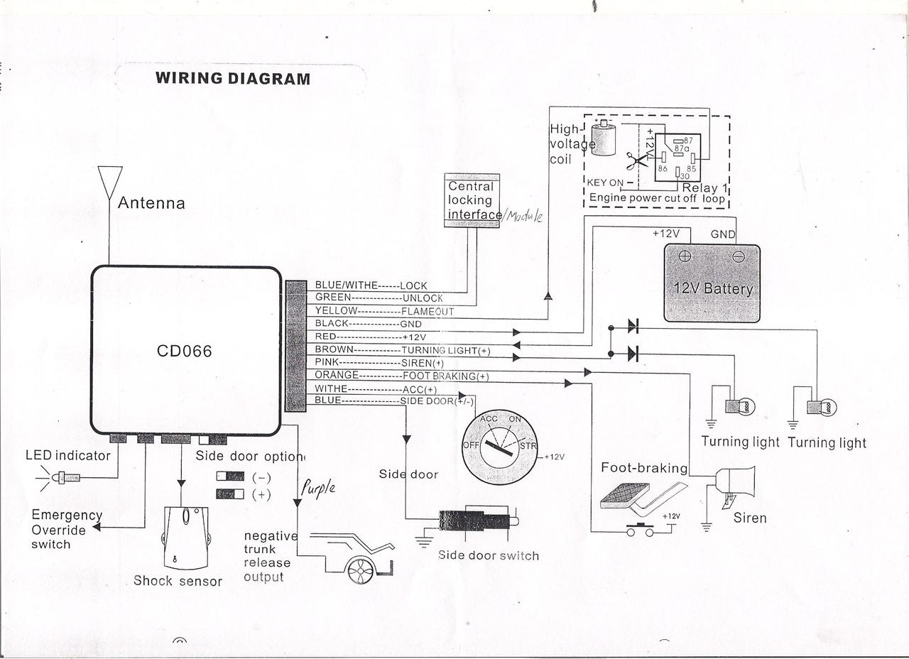 Toad Car Alarm Wiring Diagram