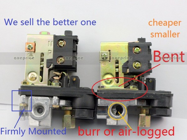 New Heavy Duty Air Compressor Pressure Switch Control ...