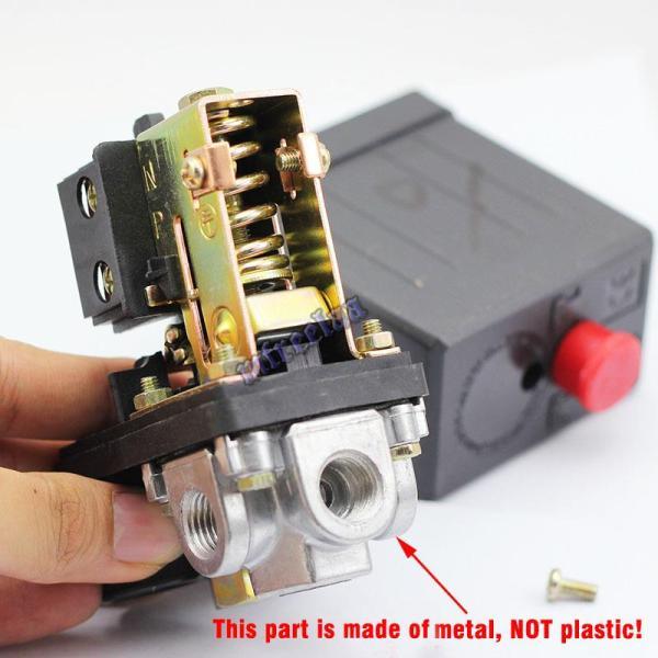 New Solid 90-120PSI Air Compressor Pump Pressure Switch ...
