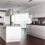 Howdens Corner Wall Unit Kitchen Design