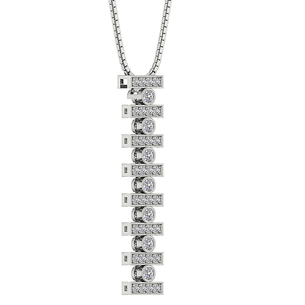 Genuine Diamond Si1 G 0 60 Ct 14k Gold Prong Bezel Set