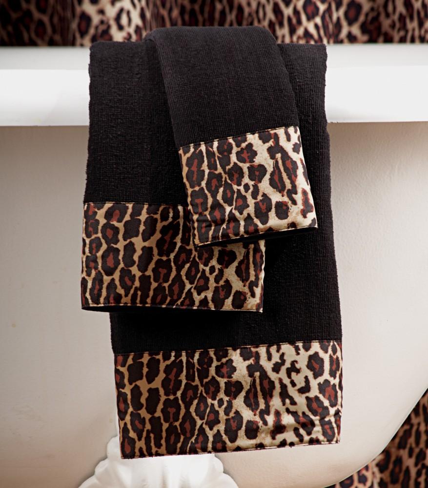 Leopard Print Bathroom Sets Leopard Print Bathroom Set