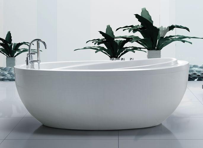 38x71 Freestanding Whirlpool Jetted Bathtub WAir Therapy Jets Breeze Bath Tub EBay