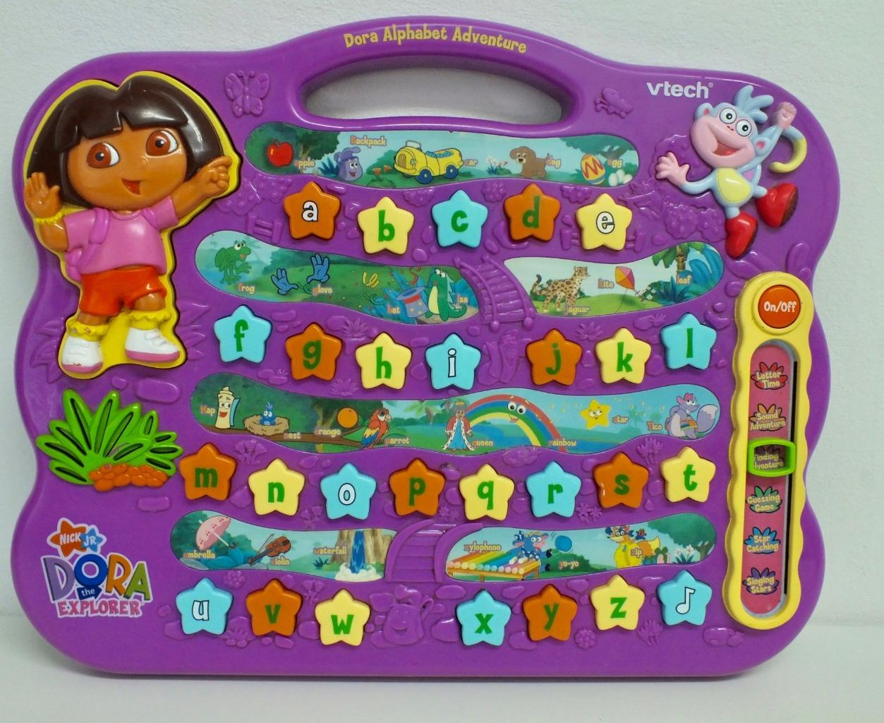 Dora The Explorer Alphabet Adventure Vtech Laptop