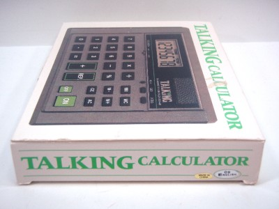 The Ultmost Big Number Talking Calculator 09 the Blind