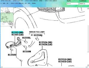 Wiring Diagram, Fuses And Reverse Light  Auris Club