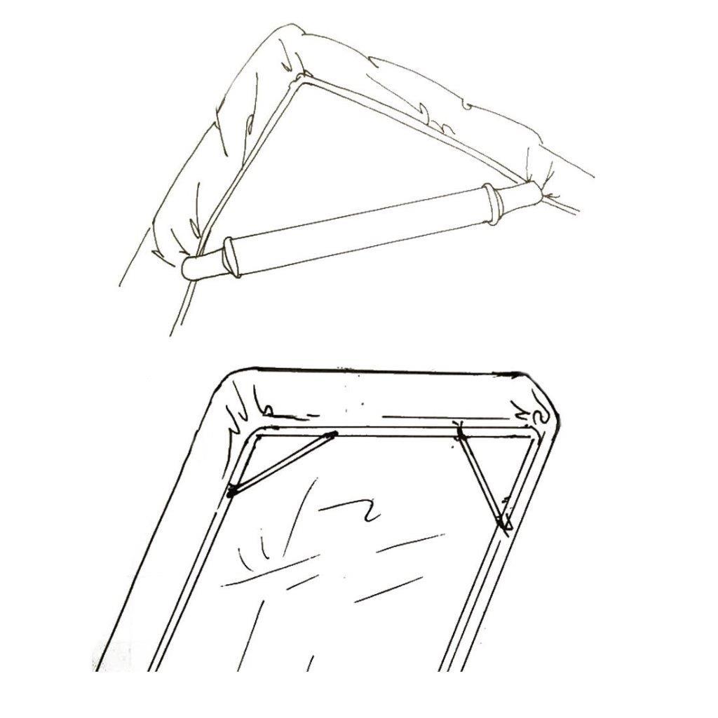 Bed Sheet Mattress Holder Grippers Corner Straps