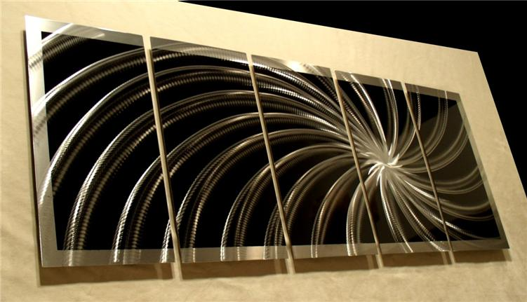 Modern Contemporary Abstract Metal Wall Sculpture Art Work