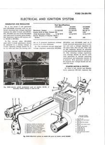 Ford 8N, 9N, 2N ElectricalIgnition Schematic Distrib | eBay