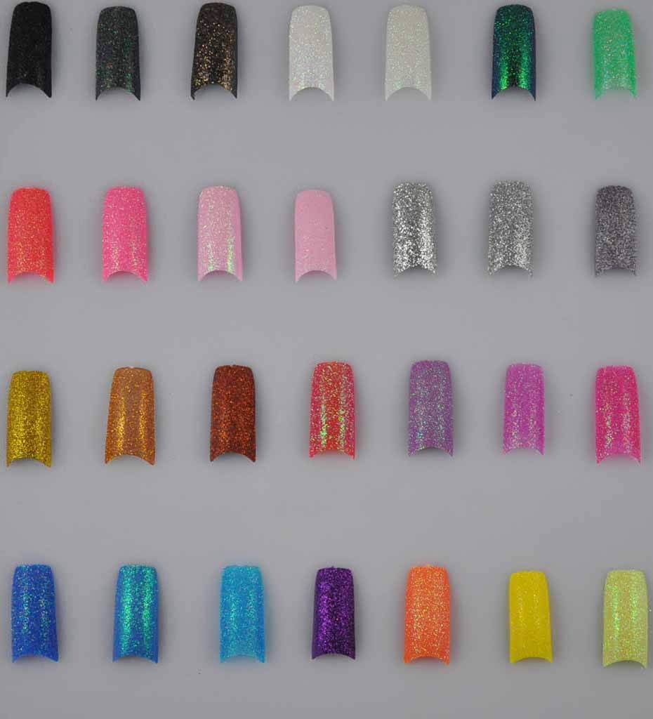 What Are Solid Color Acrylic Nails Called 36