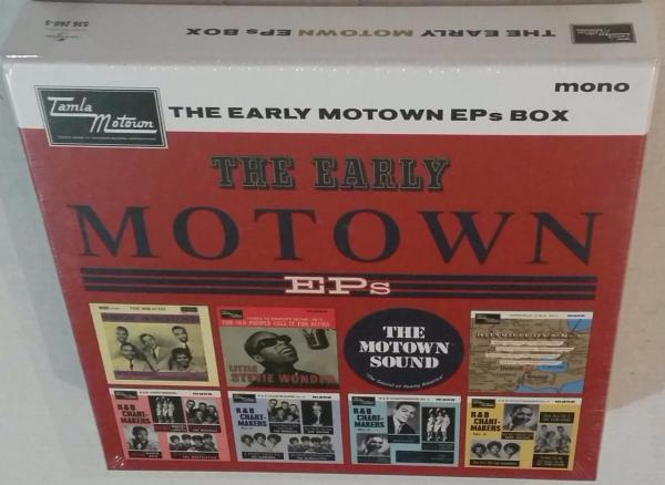 VA TAMLA MOTOWN THE EARLY MOTOWN EPs VINYL BOX LIMITED ...