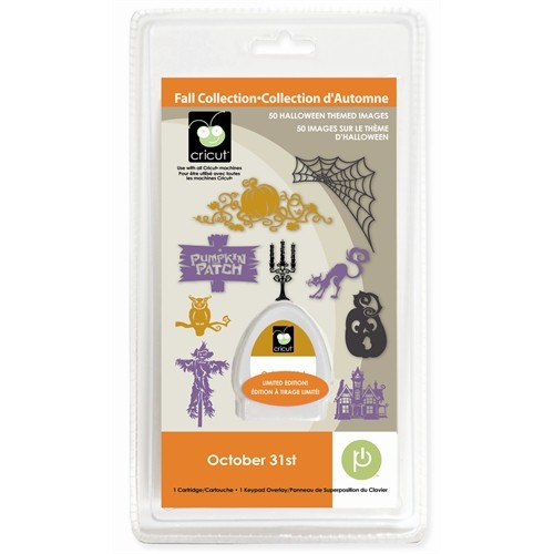 NIP Seasonal Cricut Cartridge October 31 31st Halloween
