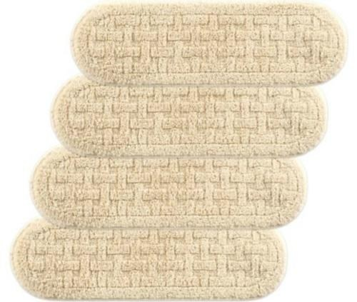 Set Of 4 36 Inch Oval Cotton Washable Non Slip Stair | 36 Carpet Stair Treads