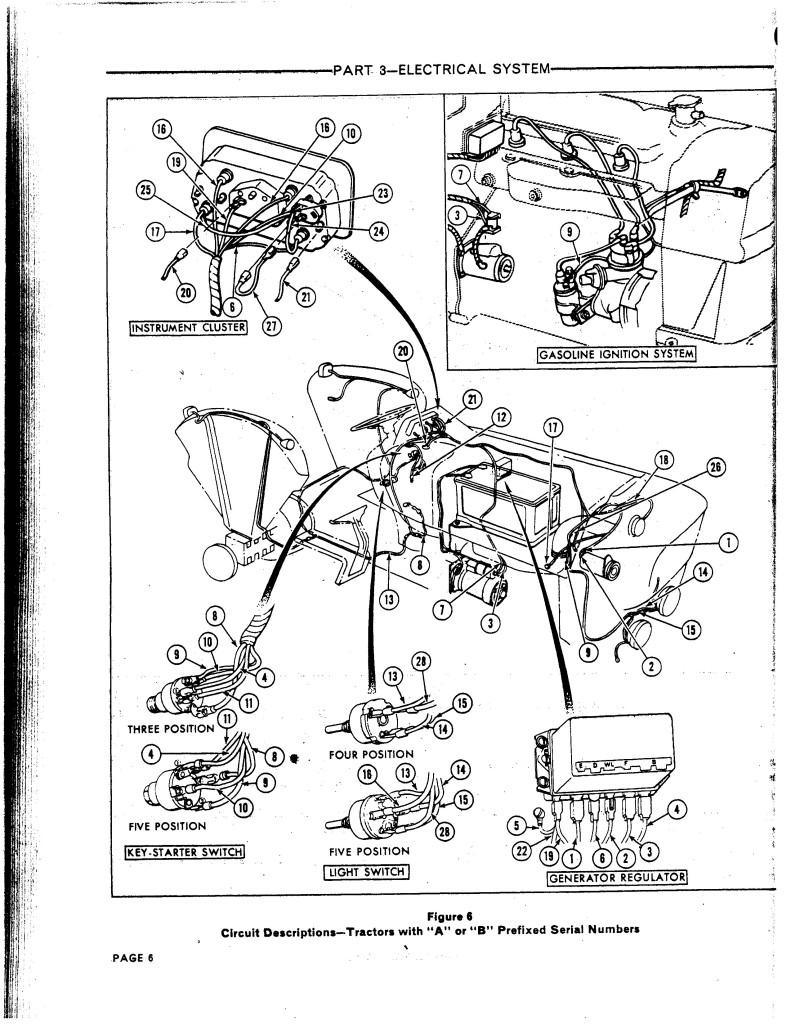 ford 5000 starter wiring diagram