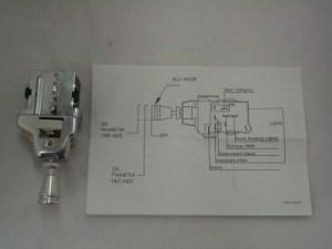 GM Headlight Light Switch With Aluminum Knob Beautiful