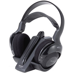 Sony MDR RF925RK 900 MHz Analog RF Wireless HeadphoneSonyMDRRF925RK027242708259
