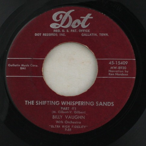 vinyl record, 45, Billy Vaughn