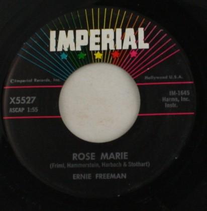 vinyl record, 45, Ernie Freeman