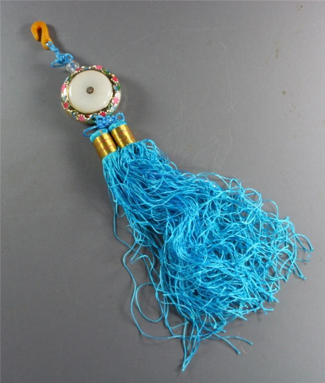 Chinese, tassel, good luck, medallion