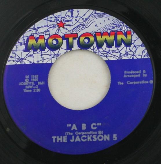 vintage 45 record, Jackson 5, Motown, A B C