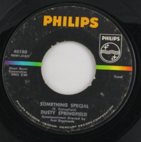 vintage record, vinyl, 45, Dusty Springfield,Something Special,Stay Awhile,Phillips