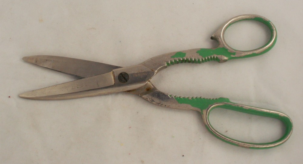 vintage shears, Wiss, kitchen,utensils