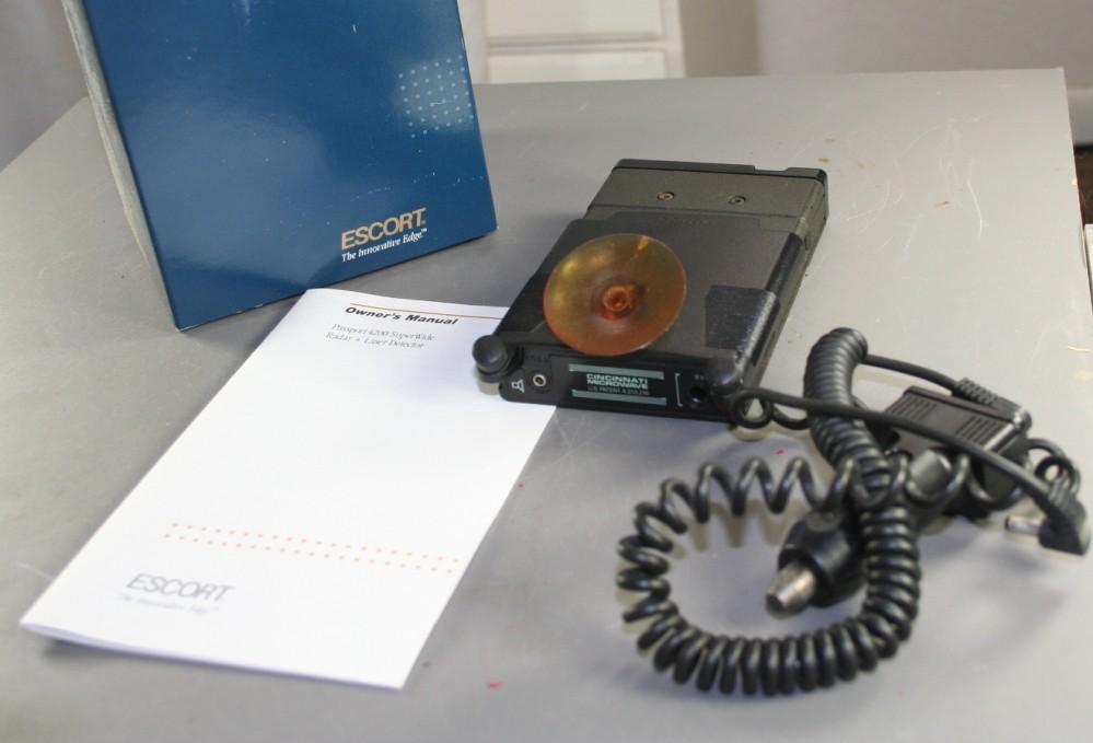radar detector, laser detector,Escort, Passport 4200