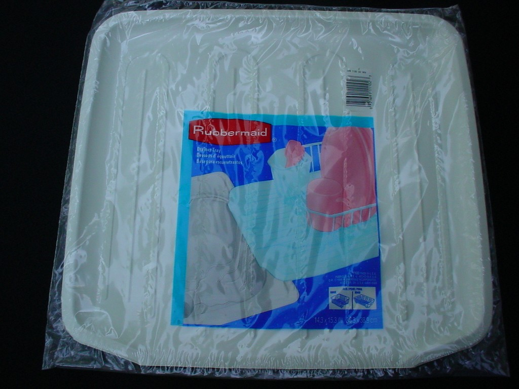Rubbermaid White NEW OLD STOCK Pliable Rubber Sink Drain