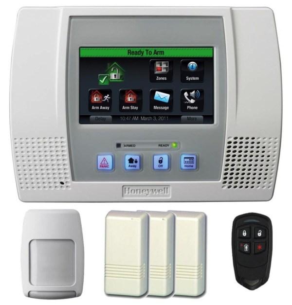 HoNeYwEll Lynx TOUCH L5100 Wireless Alarm WITH WIFI