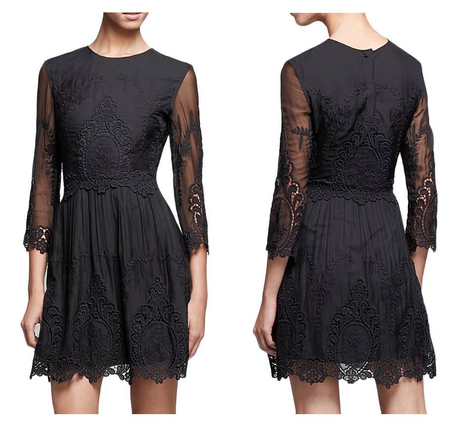 Lace Rue Dress And 21 Blue