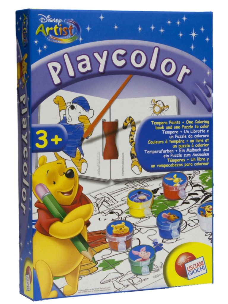 Disney Winnie Puuh Kunst Playcolor Malset 8008324021161 EBay