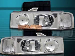 9505 Chevy Astro Van Clear Headlights  Park Signal