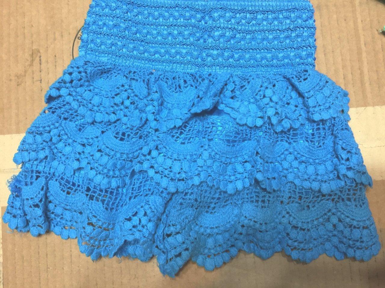 Crochet Baby Shorts Girl