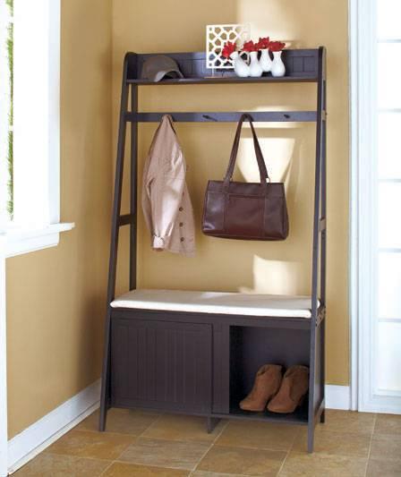 Entryway Bench Shoe Storage And Coat Rack