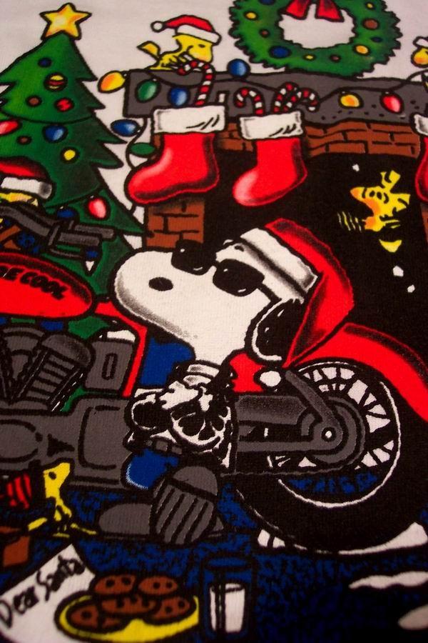 Joe Cool Christmas Snoopy